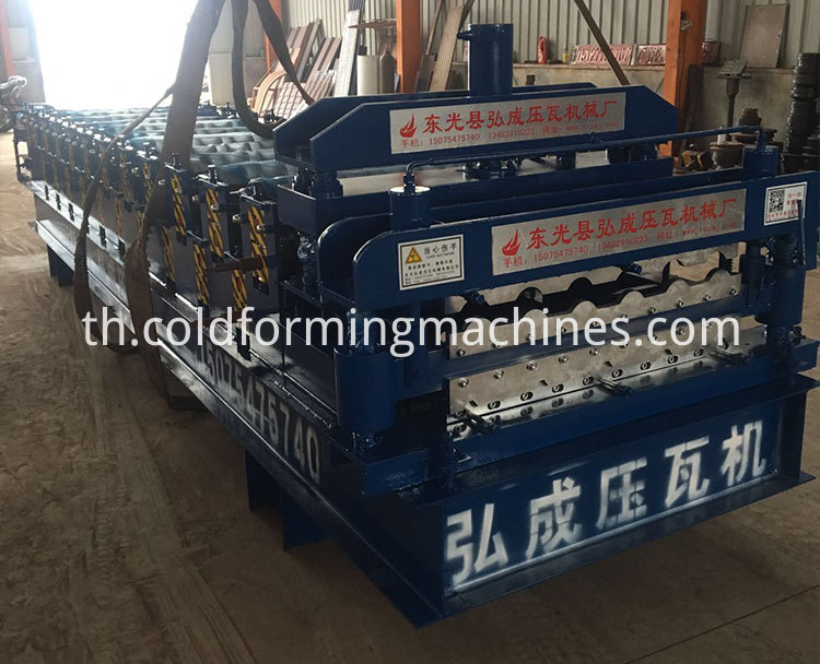 double layer roll forming machine 3