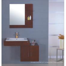 Armário de banheiro de madeira maciça (B-227)