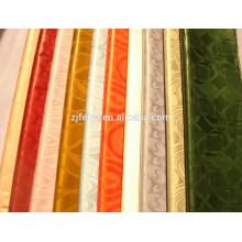 La tela africana del precio al por mayor de la promoción del brocado de la cera del poliéster de la cera 6 yardas / pedazo imprimió nuevo diseño de las materias textiles