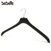 Cheap Wholesale Black Plastic Coat Hanger