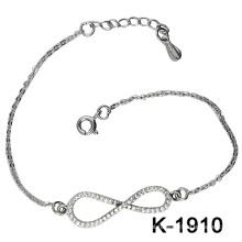 Brincos mais recentes & Jóias de moda Prata 925 (K-1910. JPG)