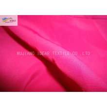 20D+26D*75D Dyed Polyester Plain Peach Skin Fabric