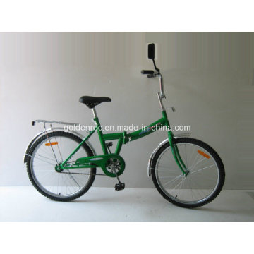 "24"" Steel Frame Folding Bike (FJ24)"