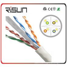 Cable de red de alta velocidad 0.56CU U / UTP CAT6 Flujo de 100m pasado