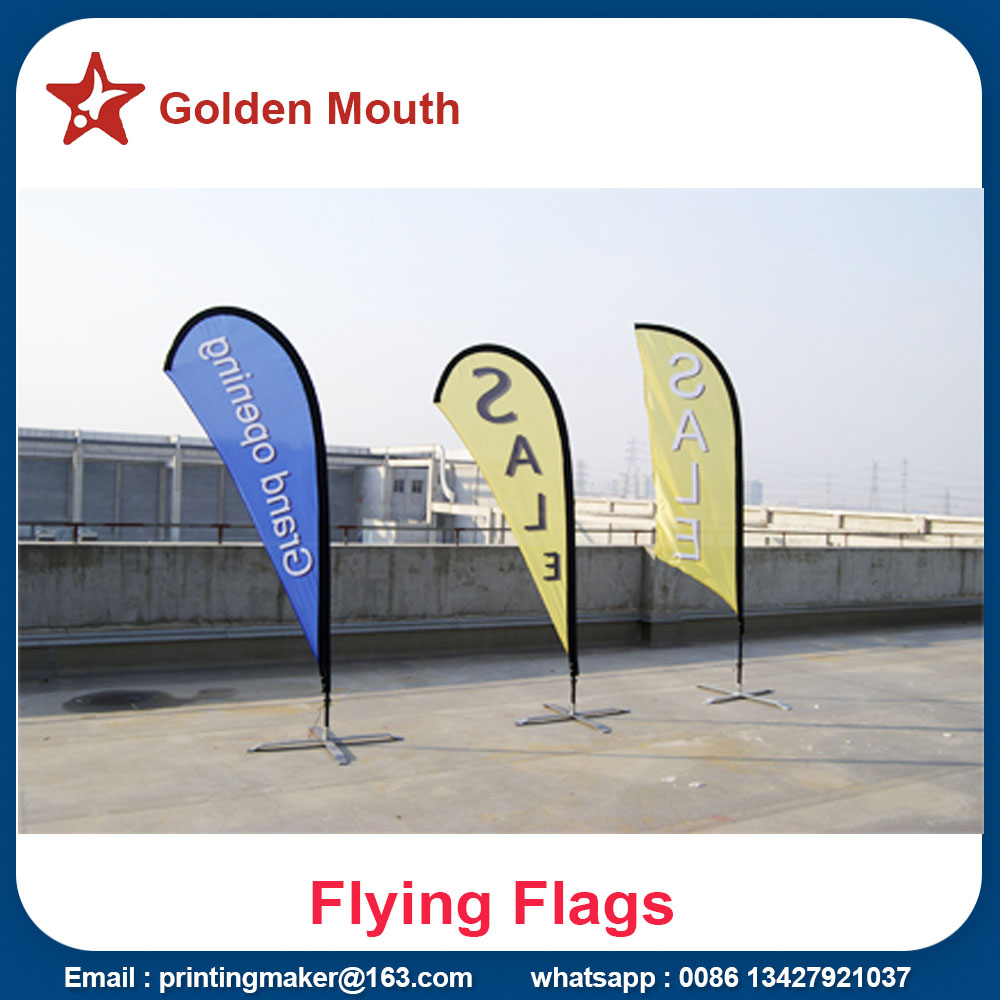 Outdoor Roadside Feather Banners for Wholesale
