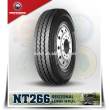 Neoterra truck tire 10.00r20 Special Four-rid tread groove design makes 11R22.5 tyre