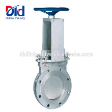12 Dimension Kitz Price List Oil Part Bidirectional Seal Non Rising Stem Knife Gate Valve Purpose