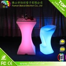Table à LED RVB pour Bar / PE