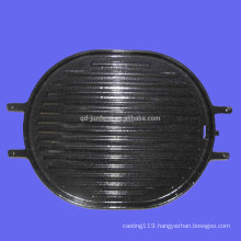 carbon steel non stick gill pan