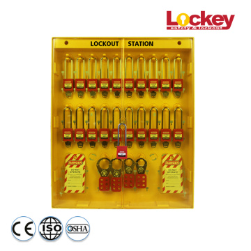 Padlock Hasp Tag Combined Lockout Station