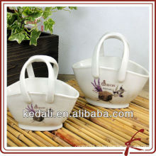 Caliente estilo de porcelana de cerámica de jardín decoración flor