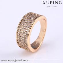 11802- Xuping más nuevo diseño de joyería de oro anillos de moda