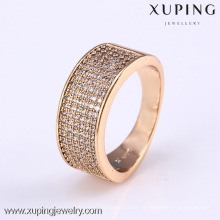 11802- Xuping mais novo Design Gold Jewellery Rings Trendy