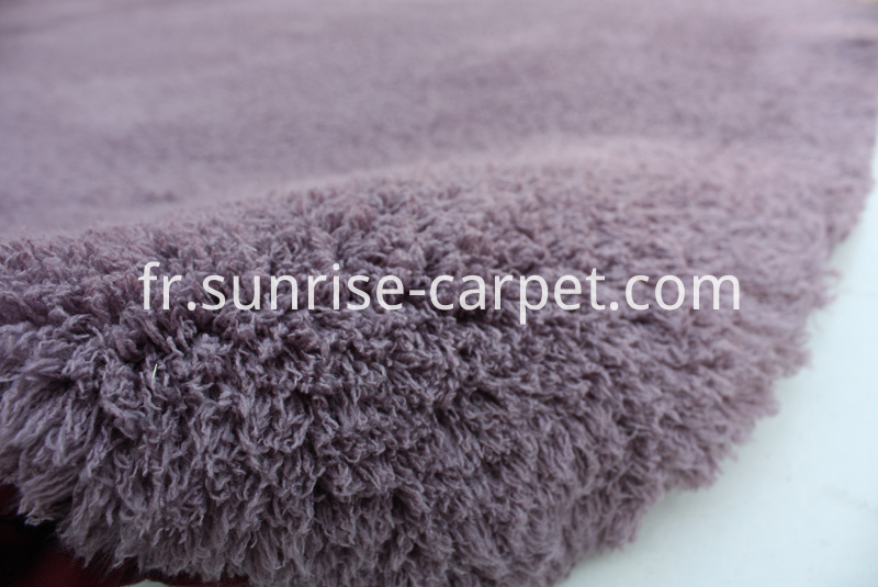 Bathmat with dusty pink color