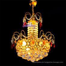 Vintage K9 Kristall französischer Stil kleinen goldenen Kronleuchter LT-70102