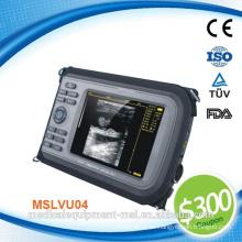 Gutschein verfügbar! MSLVU04-N CE-Zulassung Schwein Ultraschall / Schaf Ultraschall / Veterinär-Ultraschall-Scanner