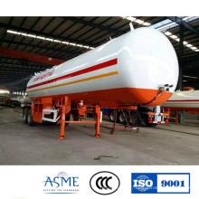 Norme ASME 40500 Litres GPL gaz camion citerne remorque