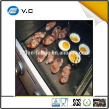 AS TV Show New product non-stick Easy TO Clean BBQ grill mat LFGB FDA certified