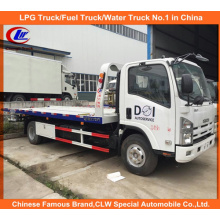 Isuzu 5tons Towing Truck Flatbed Wrecker Truck for Sale