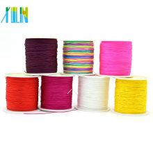 Cordón que anuda chino colorido de alta calidad para la fabricación de la joyería de Yiwu, ZYL0004-71 #
