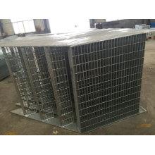 Escalera externa galvanizada INMERSIÓN caliente de la fabricación de metal del OEM para el uso constructivo