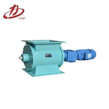 Válvula de alimentação de pó de bloqueio de ar industrial rotativo