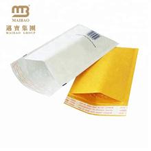 Porte postal personalizado personalizado barato cor-de-rosa de Brown branco colorido sacos personalizados do Jiffy da mistura do papel de embalagem