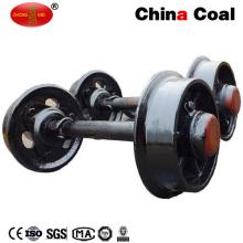 Китай угля колеи 600мм Литой стали мои колеса автомобиля набор