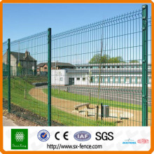 wire folding top security fence