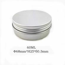 Tarro de aluminio natural 60ml