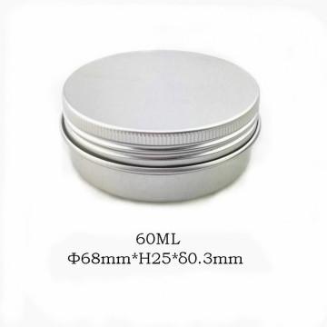 Pot en aluminium naturel de 60 ml