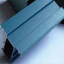 Profil d'extrusion d'aluminium industriel 2214