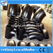 Chinese supplier wholesales Elbow carbon steel pipe fitting ISO9001:2000
