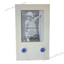 Simple Wooden Photo Frame with Hanger Forhome Deco