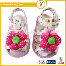 Sapatos de bebê de verão baby leathe shos sapatos de sandália de bebê sapatos de princesa