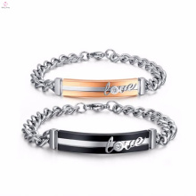 modelos de pulseira de designer novo barato aço inoxidável mens meninas '