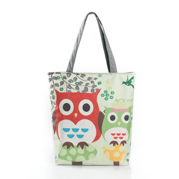 Shopping bag in tela stampata
