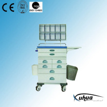 Multi-Function Hospital Medical Emergency Trolley (N-5)