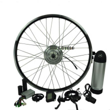 Made in china preço barato DIY fácil de instalar verde barato bicicleta elétrica kit