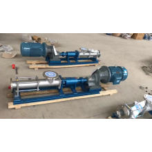 G series single screw slurry pump