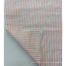 100 % Leinen Streifen bedruckten Stoff für Bekleidung & Heimtextilien