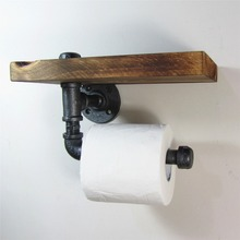 industrial cast iron hook rack for toilet