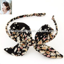 2015 fashion cheap custom headbands Butterfly hairpin