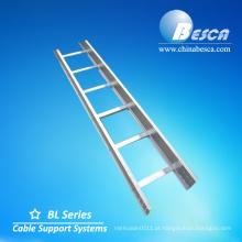 Tipo da escada da liga de alumínio para o CE da bandeja / UL / GV / IEC