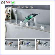 High Quality Self-Power Bath and Shower LED Bathtub Faucet (FD15306F)