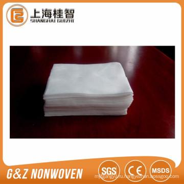 нетканых хлопок полотенце для лица клиента дизайн одноразовые сухое полотенце для лица