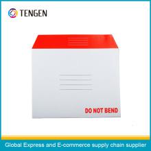 Envelope de papelão com ISO9001 e ISO14001