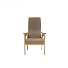 Contemporary Visitor High Back Wooden Commercial Armchair