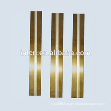 Ag onlay brass clad metal strip made in China