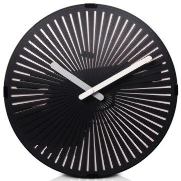 Gun Moving Wall Clock With Light